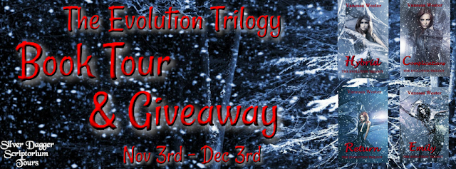 Book Tour and Giveaway:  The Evolution Trilogy by Vanessa Wester