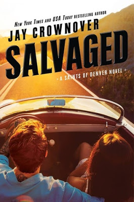 Cover Reveal:  Salvaged (Saints of Denver #4) by @JayCrownover