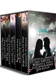 Review:  Backstage Pass:  The Complete Series #1-5 by Ophelia London, Lisa Burstein, Rebekah L. Purdy, Suze Winegardner, and Erin Butler