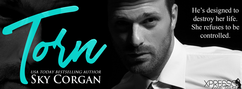 Cover Reveal:  Torn by Sky Corgan