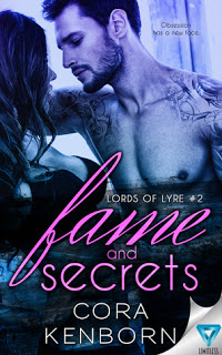 Review:  Fame and Secrets (Lords of Lyre #2) by Cora Kenborn