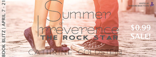 Book Blitz and Giveaway:  Summer of Irreverence – The Rock Star by Catherine Goldstein  @cathrinegold