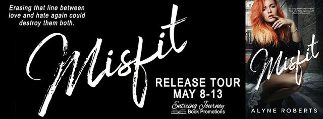 Release Tour:  Review and Giveaway – Misfit by Alyne Roberts