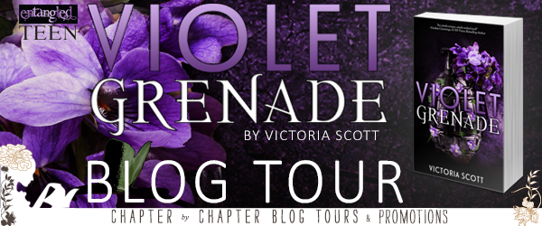 Blog Tour Review with Giveaway:  Violet Grenade by Victoria Scott