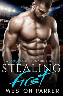 Cover Reveal:  Stealing First – A Bad Boy Billionaire Novel by Weston Parker