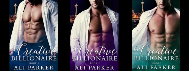 Release Blitz:  My Creative Billionaire #3 by Ali Parker