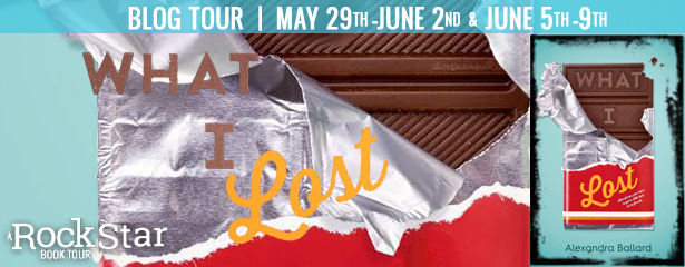 Blog Tour with Review and Giveway:  What I Lost by Alexandra Ballard