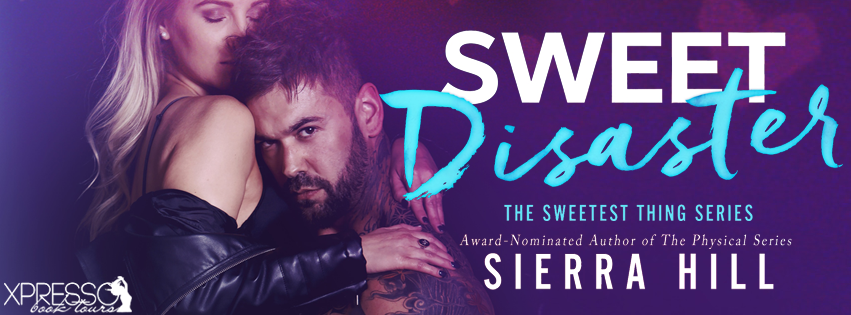 Cover Reveal:  Sweet Disaster by Sierra Hill