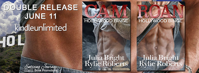 Release Blitz:  Hollywood Binge Series by Julia Bright and Rylie Roberts