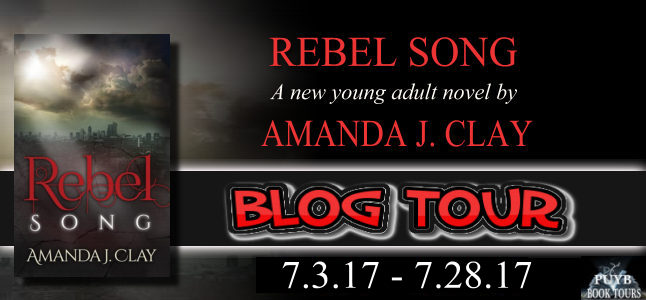 Blog Tour:  Rebel Song by  Amanda J. Clay