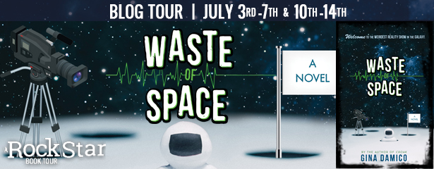 Blog Tour:  Review and Giveaway – Waste of Space by Gina Damico