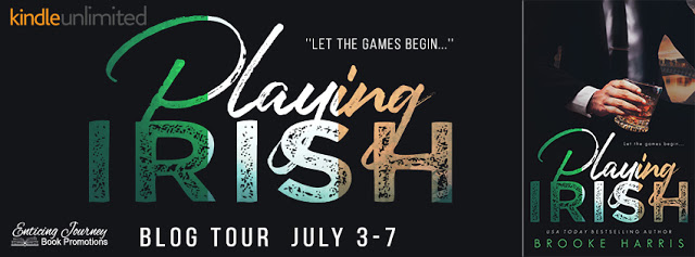 Blog Tour with Giveaway:  Playing Irish by Brooke Harris