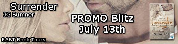Promo Blitz:  Surrender by JG Sumner