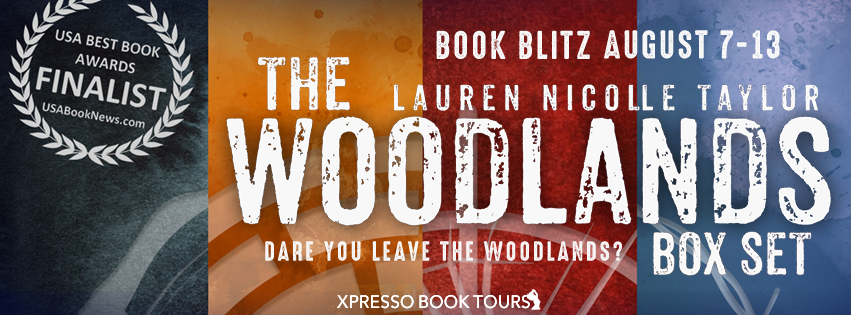 Book Blitz with Giveaway:  The Woodlands Series Box Set by Lauren Nicolle Taylor