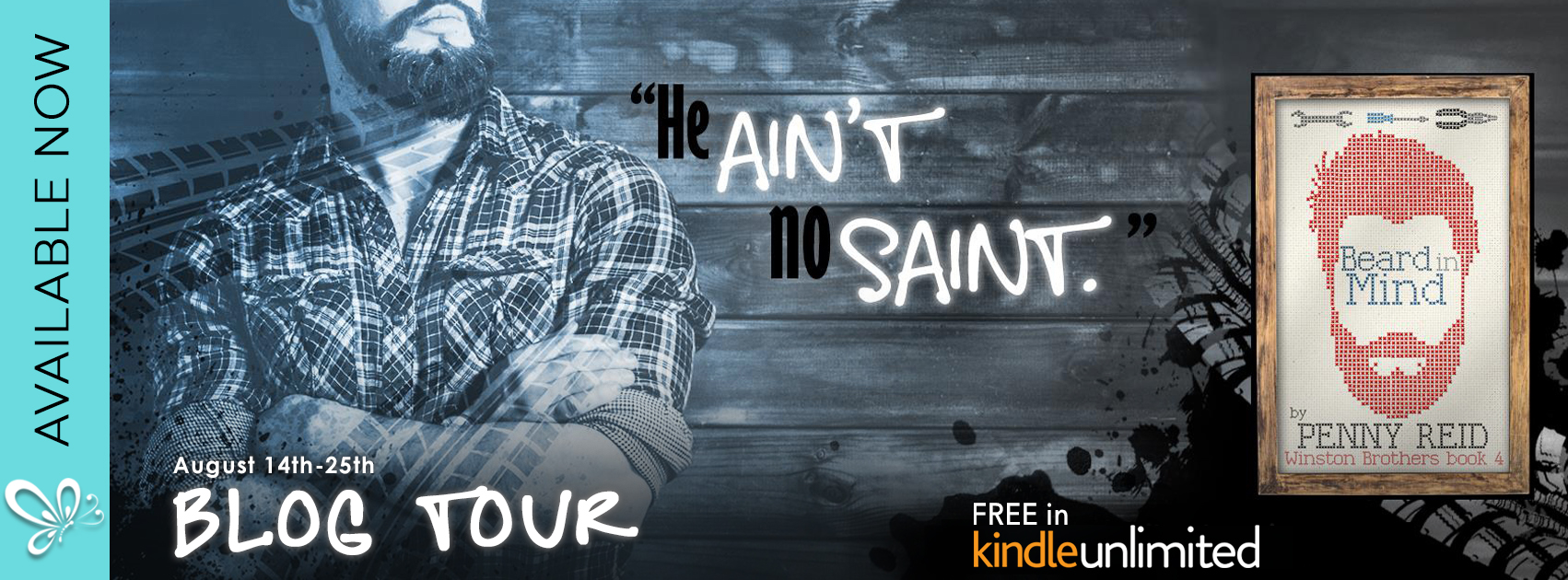 Blog Tour with Review and Giveaway:  Beard in Mind (Winston Brothers #4) by Penny Reid