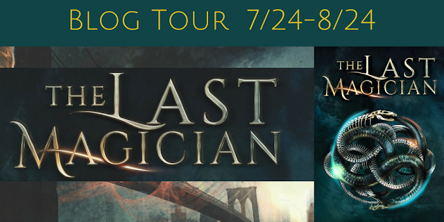 Blog Tour with TWO Giveaways:  The Last Magician by Lisa Maxwell