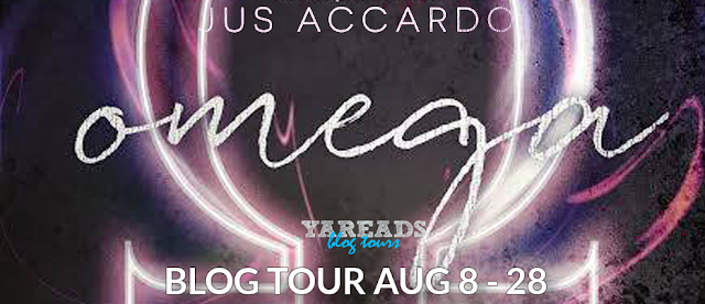 Blog Tour with Giveaway:  Omega (The Infinity Division #2) by Jus Accardo