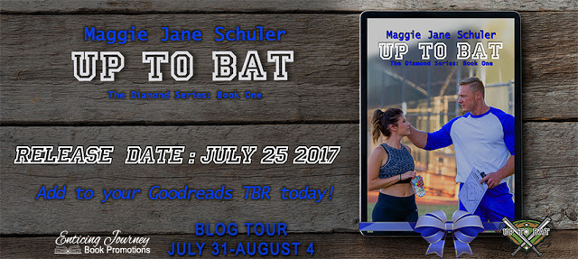 Blog Tour with Giveaway:  Up to Bat (Diamond Series #1) by Maggie Jane Schuler