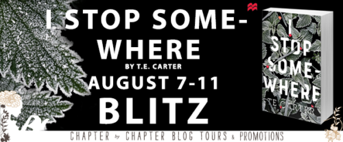 Book Blitz with Giveaway:  I Stop Somewhere by T.E. Carter