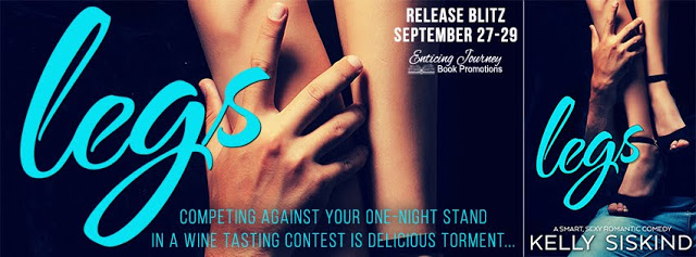Release Blitz with Giveaway:  Legs (One Wild Wish #1) by Kelly Siskind