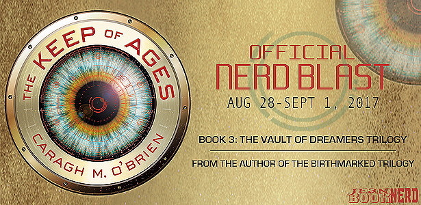 Blog Tour Review With Giveaway:  The Keep of Ages (The Vault of Dreamers Trilogy #3) by Caragh M. O'Brien