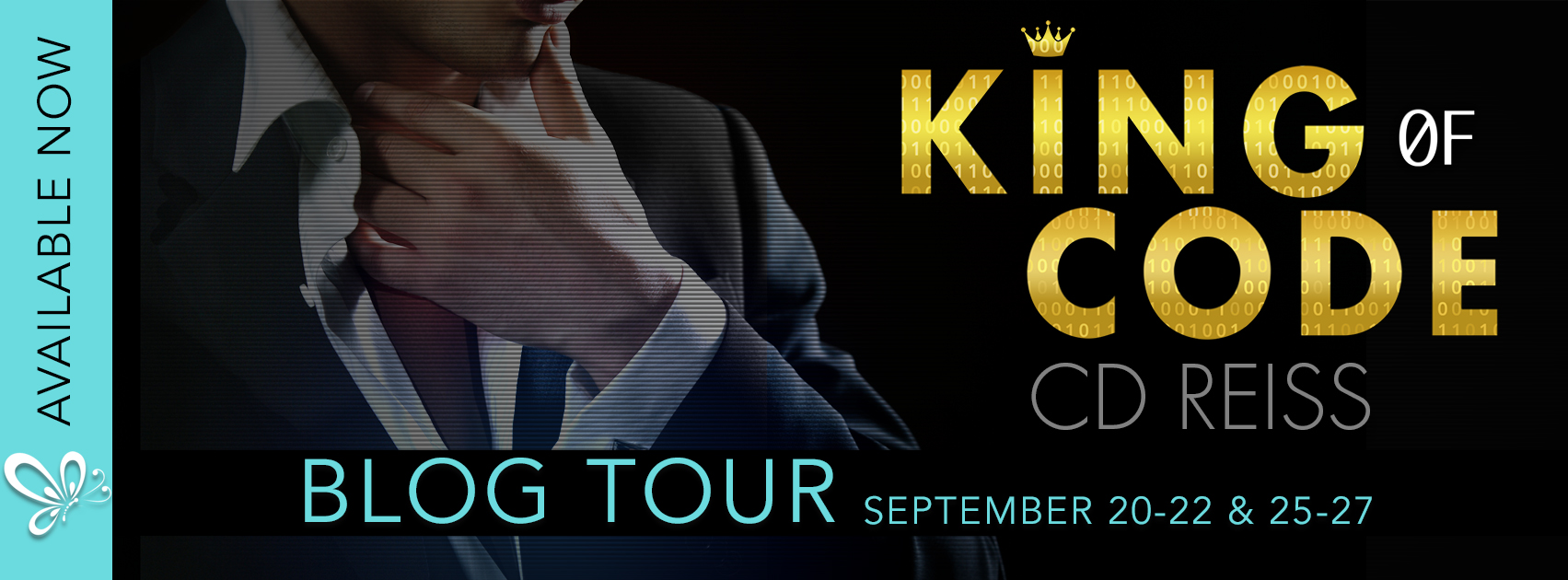 Blog Tour:  King of Code by CD Reiss