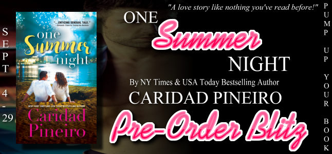 Promo Post with Giveaway:  One Summer Night by Caridad Pineiro