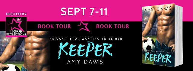 Book Tour with Giveaway:  Keeper (Harris Brothers #3) by Amy Daws