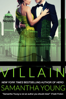 Cover and Blurb Reveal:  Villain by Samantha Young