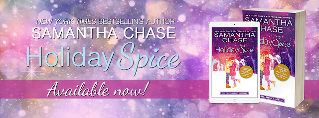 Release Blitz:  Holiday Spice (The Shaughnessy Brothers #6) by Samantha Chase