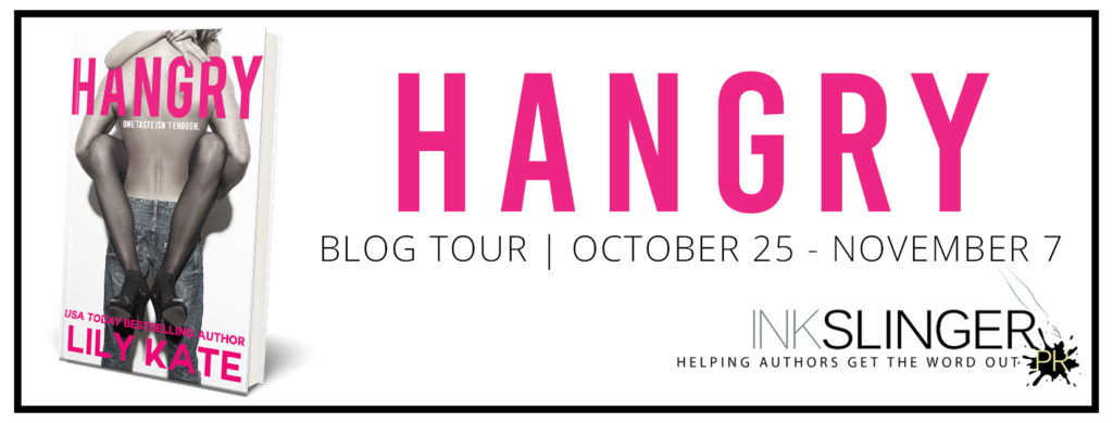 Blog Tour with Excerpt and Giveaway:  Hangry by Lily Kate