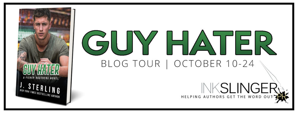 Blog Tour with Giveaway: Guy Hater by J. Sterling