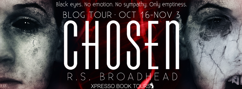 Author Interview with Giveaway:  Chosen (Urban Legend Series) by R.S. Broadhead