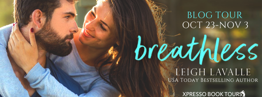 Blog Tour – Author Interview with Giveaway:  Breathless (Yoga in the City #1) by Leigh LaValle