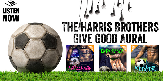 Audiobook Review with Giveaway:  Keeper (Harris Brothers #3) by Amy Daws