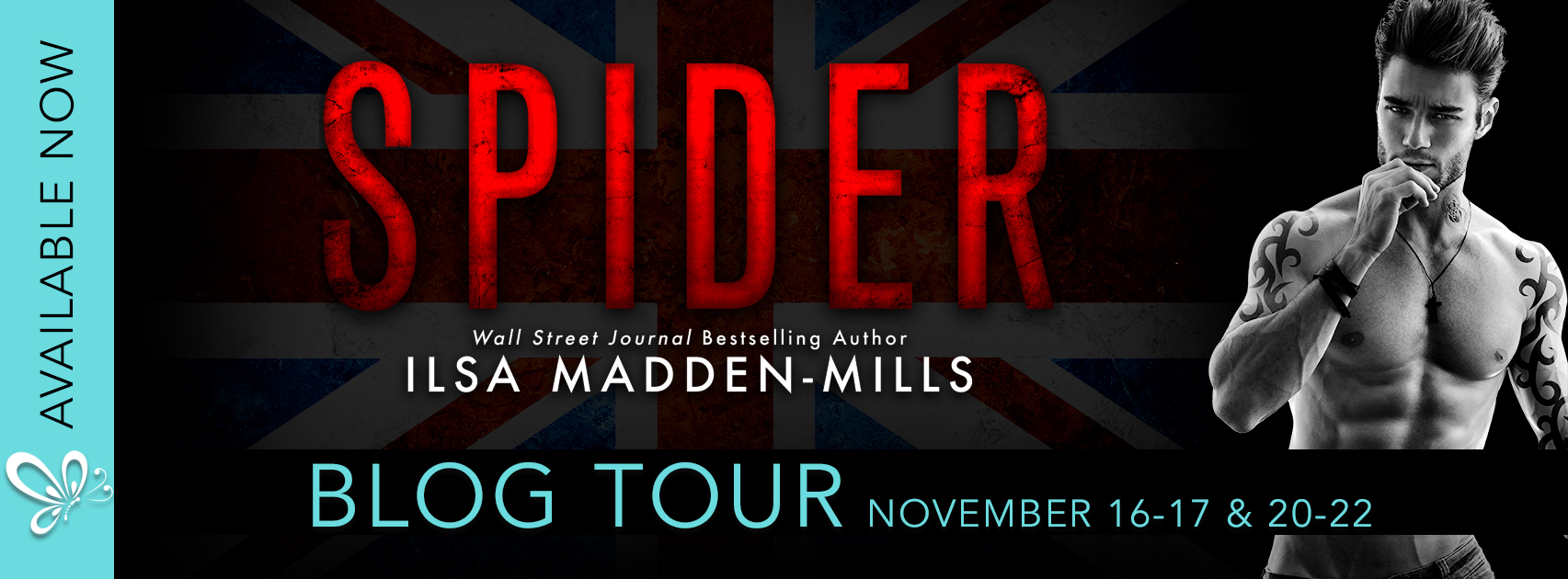 Blog Tour:  Spider by Ilsa Madden-Mills