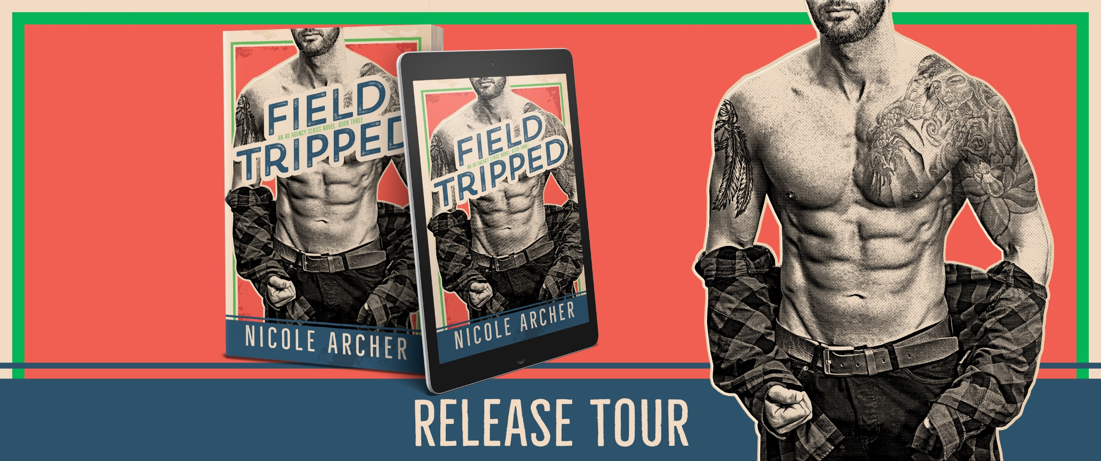 Review with Giveaway:  Field-Tripped (Ad Agency Series #3) by Nicole Archer