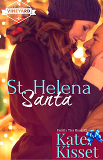Cover Reveal with Giveaway:  St. Helena Santa by Kate Kisset