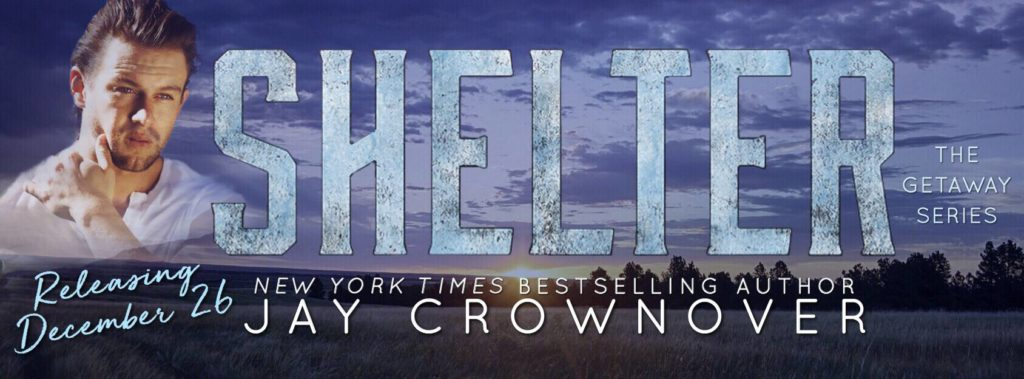 Release Day Launch with Giveaway:  Shelter (Getaway Series #2) by Jay Crownover