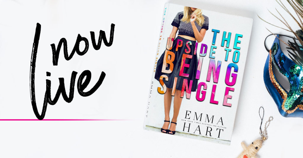 Release Day Promo:  The Upside to Being Single by Emma Hart
