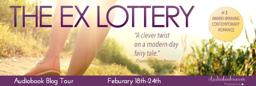 Audiobook Blog Tour with Giveaway:  The Ex Lottery by Kim Sanders