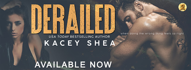 Release Blitz with Giveaway:  Derailed (Off Track Records Series) by Kacey Shea