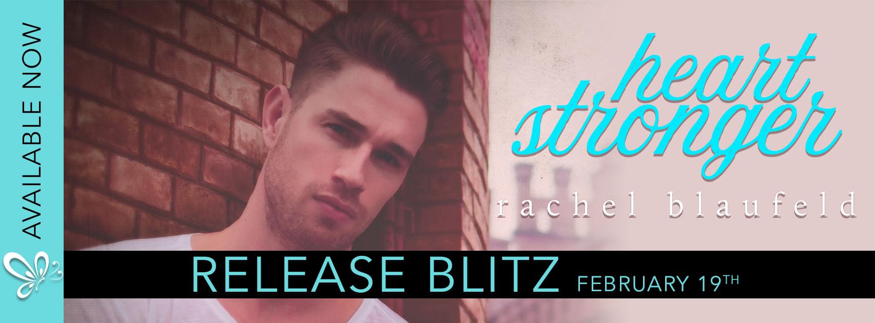Release Blitz:  Heart Stronger by Rachel Blaufeld