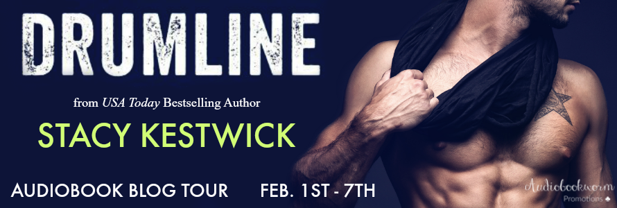 Audiobook Blog Tour Review with Author Interview and Giveaway:  Drumline by Stacy Kestwick