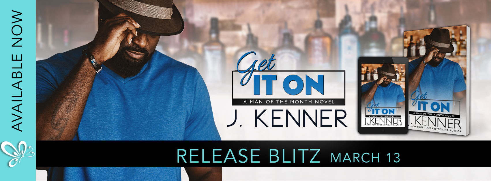 Release Blitz:  Get It On (Man of the Month Series #5) by J. Kenner
