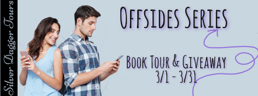 Book Tour with Giveaway:  Offsides Series by Natalie Decker