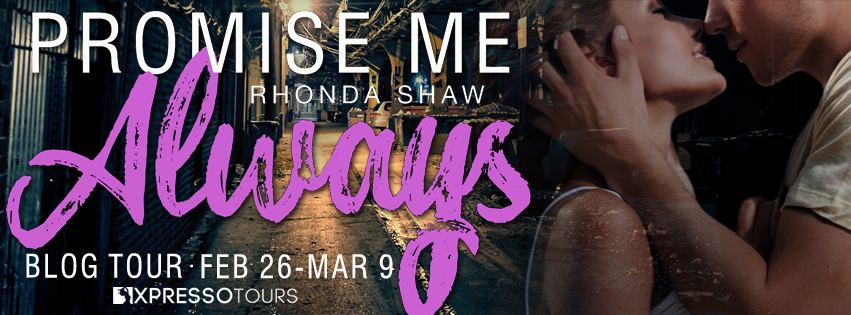 Author Interview with Giveaway:  Promise Me Always by Rhonda Shaw