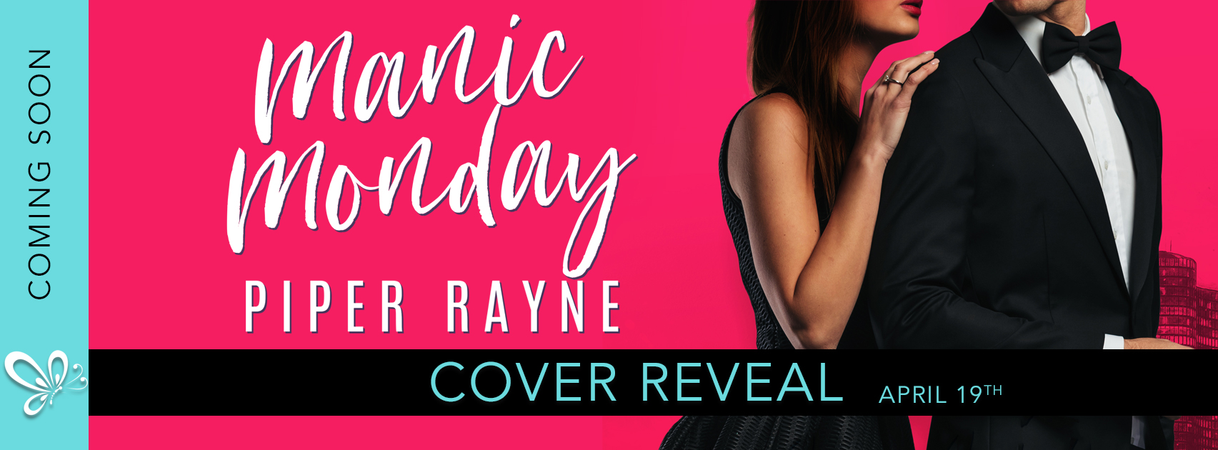 Cover Reveal:  Manic Monday by Piper Rayne