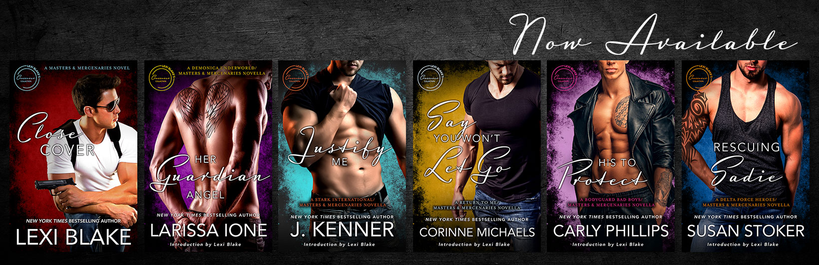 Release Day Launch:  Lexi Blake Crossover Collection