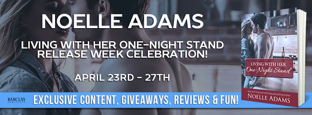 Release Blitz with Giveaway:  Living With Her One-Night Stand by Noelle Adams